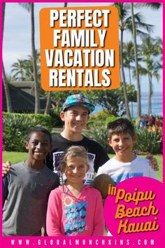 Ever travel to some exotic destination with kids in tow only to feel incredibly cramped in your hotel room? Ever stressed over the expense of having to eat out EVERY SINGLE meal? Or ever dread trying to entertain your kids so they are actually well behaved in restaurants? I know I have and those are just a few of the reasons the Villas at Poipu Kai in Kauai are perfect for traveling families. We decided to look for a Kauai Vacation Rental in Poipu Beach Kauai Vacation Rentals, Poipu Beach, Travel Expert, Universal Orlando, Family Travel, Disneyland, Cruise, Entertaining, Feelings
