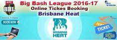Big Bash League 2016-17 Tickets =============================== http://www.cricwindow.com/big-bash-league-2016-2017/brisbane-heat-tickets.html