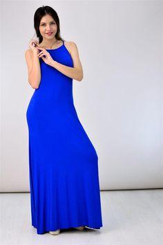 Potre – Φόρεμα με τιράντες High Neck Dress, Summer Dresses, Collection, Fashion, Turtleneck Dress, Moda, Summer Sundresses, Fashion Styles, Fashion Illustrations