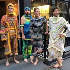 One for the man in your life? #crochet   Check out more giggle-tastic outfits here: http://www.topcrochetpatterns.com/blog/13-hilarious-vintage-patterns-for-men…