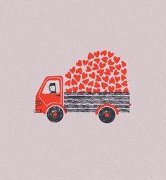 Livraison d'amour prévue aujourd'hui