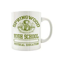 Mug Freddy Krueger - Springwood High School – Tsilemewa Freddy Krueger, Physical Education, High School, Officiel, Mugs, Clowns, France, Horror Makeup, Products