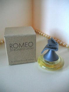 ROMEO di Romeo GIGLI Mini Eau de Parfum 0.25oz NIB Mini Perfume Collectible Miniature Bottle by pegi16, $8.99