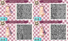 Animal Crossing New Leaf QR codes - plain white dress with black ribbon, buttons. Animal Crossing New Leaf QR codes - plain white dress with black ribbon, buttons, and tie: Animal Crossing New Leaf Qr Codes, Animal Crossing Qr Codes Clothes, Plain White Dress, Dress Black, Dream Code, Flag Code, Motif Acnl, Our Code, Ac New Leaf