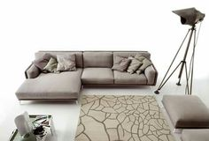 Sectional fabric sofa FOSTER by Ditre Italia design Stefano ...
