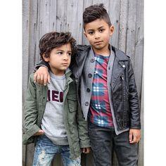 """#sundaystyle  feat. @countryroad crew, @hausofjr distressed denim, vintage @the_kidstore jacket || @zara_worldwide (girls) faux leather biker, @sudokids cardi, @agathacub tee, @riverisland denim  #boysfashion #kidsfashion #boysstyle #kidstyle #weekendstyle #boyswithswag #streetstyle #melbourne #whatwewear #sudokids #countryroadstyle #hausofjr #agathaclub #zaraboys"" Photo taken by @stylingthetribe on Instagram, pinned via the InstaPin iOS App! http://www.instapinapp.com (06/07/2015)"