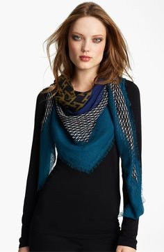 Free shipping and returns on Burberry Cashmere Scarf at Nordstrom.com. A mix of prints wafts across a sheer scarf crafted from a lustrous blend of cashmere and silk and finished with eyelash fringe.