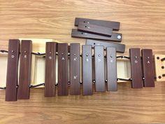 Jazz improvisation activity using Orff barred instruments. #elementary #music #class #classroom