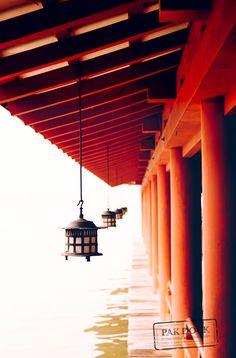 Lamp at Itsukushima  Miyajima  Travel photo by PAkDocK http://rarme.com/?F9gZi