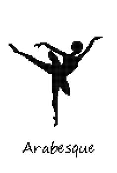 Hey, I found this really awesome Etsy listing at https://www.etsy.com/listing/161993410/ballet-position-arabesque-wall-art-cross