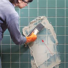 regrout wall tile