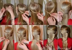How to DIY Stylish Long Hair Hairstyle