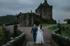 Eilean Donan Castle Elopement Scotland