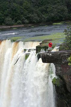 "I wanna a pic like this ;) ""Kaieteur Falls"" MAZARUNI-POTARO, GUYANA."