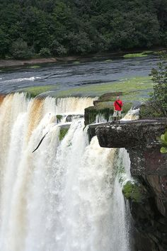 "I wanna a pic like this ;) ""Kaieteur Falls"" MAZARUNI-POTARO, GUYANA."