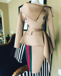 Nicci Hou Collection Safari Top and Skirt Mode Outfits, Chic Outfits, Dress Outfits, Fashion Outfits, Womens Fashion, Fashion Trends, African Inspired Fashion, African Print Fashion, African Fashion Dresses