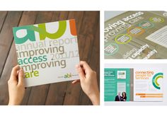 Toronto ABI Network Annual Report Design by Gravity