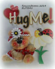 ELITE4U Premade Tear Bear Paper Piecing Scrapbook Album Page Border Roxcrafts | eBay