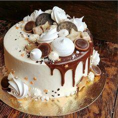 Chocolate and ricotta cake - HQ Recipes Tea Cakes, Cupcake Cakes, Cakes Originales, Bolos Naked Cake, Super Torte, Cake Chocolat, Cake Business, Buttercream Cake, Swiss Buttercream