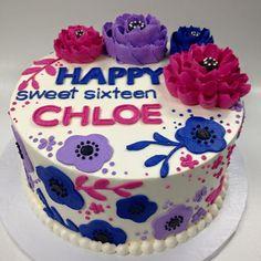 The White Flower Cake Shoppe Birthday Cake Girls, Birthday Bash, Birthday Ideas, Beautiful Cakes, Amazing Cakes, White Flower Cake Shoppe, Fab Cakes, Cake Works, Sheet Cakes