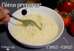 Receta: Cómo preparar cous cous en 5 minutos | El blog de Lupi