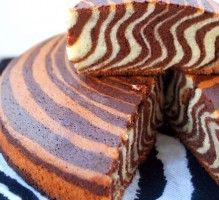 Recette - Gâteau tigré ou zebré - Proposée par 750 grammes