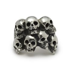 The Great Frog 'Catacomb' Ring. Handmade in London from hallmarked .925 British sterling silver.