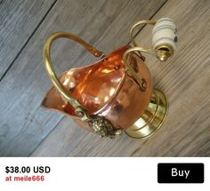Copper Coal Scuttle