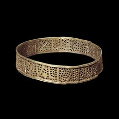 The Juliana bracelet from the Hoxne hoard Roman Britain, buried in the 5th century AD