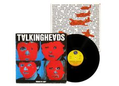 Talking Heads album cover, 1980. Designed by Tibor Kalman.