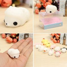 Steady 1 Pcs Kawaii Octopus Squishy Slow Rising Mini Bunny Bag Accessories Squeeze Stretchy Cute Pendant Bread Cake Kids Toy Gift A Great Variety Of Models Luggage & Bags