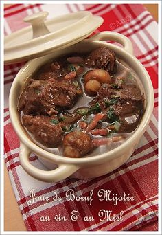 1000 images about viandes boeuf agneau on pinterest cuisine rouge and kitchen cook - Cuisiner de la joue de boeuf ...