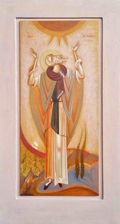 Greece -by George Kordis ~~~. Orthodox Icons, Sacred Art, Christian Art, Modern Art, Greece, Symbols, Culture, Gallery, Drawings