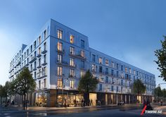 Gothenburg residential by White/Skanska by Tomorrow | Architecture | 3D | CGSociety