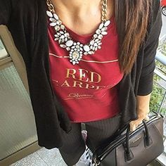 Snow White Statement Necklace #ootd #casual - 24,90 € @happinessboutique.com