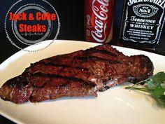 Jack & Coke Steaks   An Affair from the Heart
