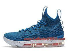Nike LeBron 15 Hardwood Classics Chaussures Nike LeBron 2018 Pas Cher Pour  Homme Bleu Blanc 897648-400-Achetez en ligne les articles signés Nike. f705fa495c5c