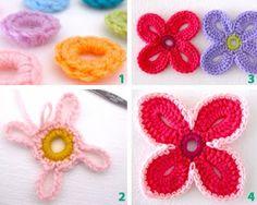 DIY Crochet Hawaiian Flower With Free Pattern   WonderfulDIY.com