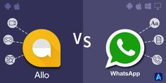 The new smart #messagingapp, Google Allo has finally released. Google Allo vs Whatsapp, we are going to have a tough choice to make!