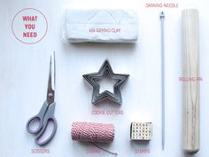 air-drying-clay-ornaments-what-you-need