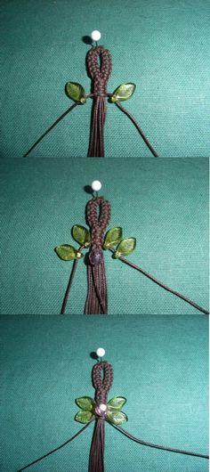 Macrame Pattern For to love Bracelet