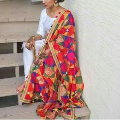indian fashion Women -- Click Visit link above to read Indian Bridal Outfits, Indian Fashion Dresses, Dress Indian Style, Pakistani Outfits, Asian Fashion Indian, Indian Suits Punjabi, Indian Attire, Indian Wear, Punjabi Dress