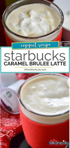 Starbucks Caramel Brûlée Latte Recipe Save money and time. Make your own Copycat Starbucks Caramel Brûlée Latte with your keurig in just minutes! Check out this simple recipe! Starbucks Caramel Brulee Latte Recipe, Starbucks Latte, Starbucks Recipes, Starbucks Drinks, Keurig Recipes, Nespresso Recipes, Coffee Recipes, Copycat Recipes, Meal Recipes