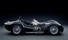 """The Maserati Tipo 61 (commonly referred to as the Maserati Birdcage) is a sports racing car of the early 1960s. The car was produced between 1959 and 1961 by Maserati for racing in sports car events including the 24 Hours of Le Mans endurance classic. It used an intricate tubular space frame chassis, containing about 200 chro-moly steel tubes welded together, hence the nickname """"Birdcage""""."""