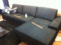 Sofa seccional weno pa echarse Couch, Interior Design, Furniture, Home Decor, Pit Couch, Nest Design, Settee, Decoration Home, Sofa