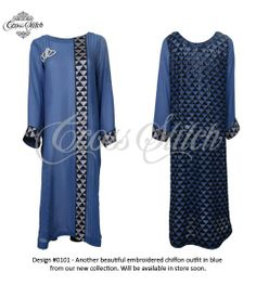 Stylish Eid ul Azha Outfit for Girls By Cross Stitch
