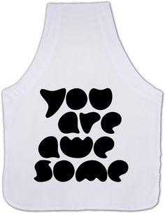Bahcevski - You Are Awesome - Kendin Tasarla - Mutfak Önlüğü