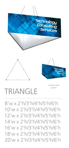 3D HANGING STRUCTURE - TRIANGLE #Trade#show #Displays #Hanging #Structure. Call us today for a quote. 1-866-7ULTIMA (1-866-785-8462) Trade Show, Triangle, Quote, Messages, 3d, Quotation, Qoutes, Text Conversations