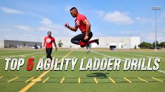 In this video, Andre Kzirian takes us through some of his favourite ladder drills to increase your athletic ability. These drills are featured. Agility Workouts, Agility Training, Speed Training, Football Conditioning Drills, Football Drills, Tackle Football, Basketball, Speed Workout, Hiit Workout At Home