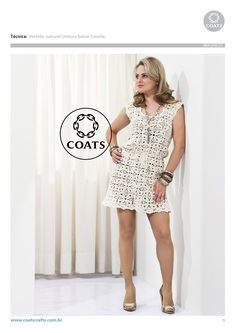 Crochet medium granny dress ♥LCD-MRS♥ with diagram --- Crochetemoda: Vestidos de Cochet